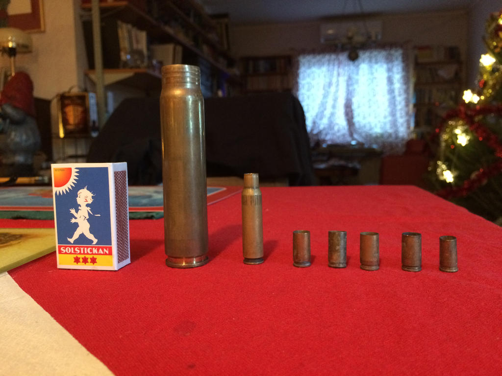 Bullet casings from the street by Thedragon1998