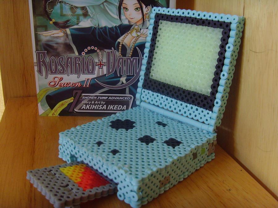 Gameboy Advance SP 3D by DarkLink021