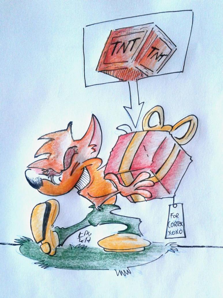 Crash Bandicoot. by EduardoAriosto