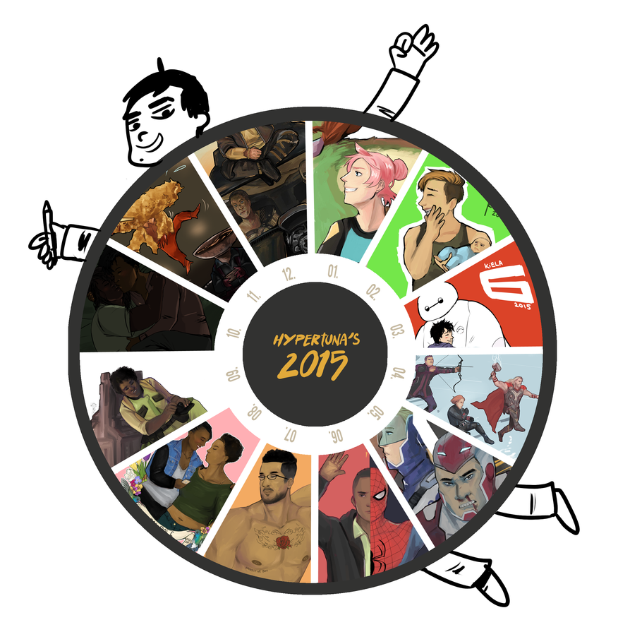 2015 in Art by Moehypertunapyun00