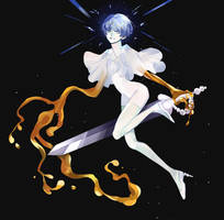 Houseki no Kuni - Phosphophyllite by Ayuyah