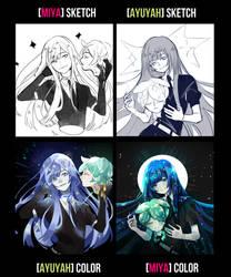 Switch Meme - Houseki no Kuni by Ayuyah