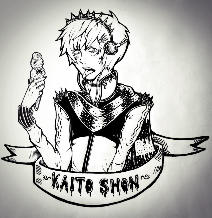 Pastel Goth Kaito Shion by SakuraKurosaki