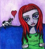 Vegan Girl by veganwitch