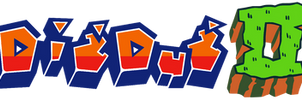 Dig Dug II alternate logo