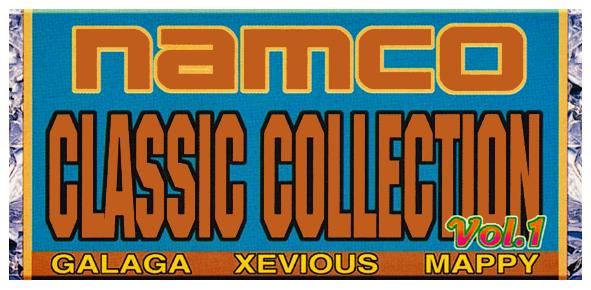 Namco Classic Collection Vol. 1 logo