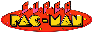 Super Pac-Man logo by RingoStarr39