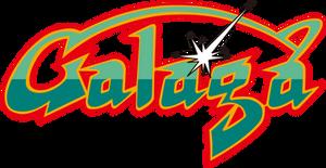 Galaga logo by RingoStarr39