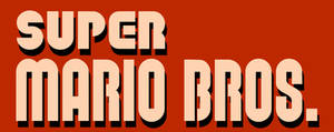 Super Mario Bros. logo by RingoStarr39