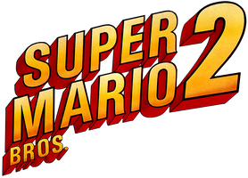 Super Mario Bros. 2 logo by RingoStarr39