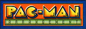 Pac-Man Arrangement alternate logo