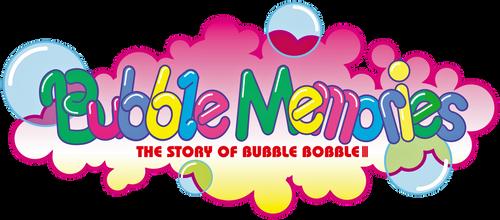 Bubble Memories logo by RingoStarr39