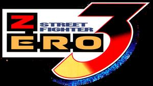 Street Fighter Zero 3 logo