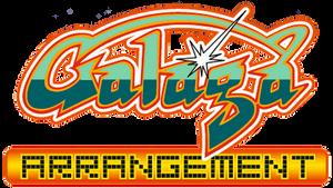 Galaga Arrangement (PSP) logo
