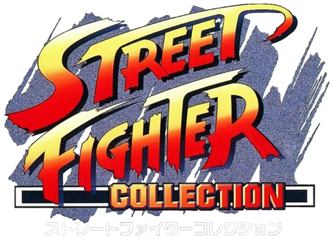 Street Fighter Collection logo (Japan)