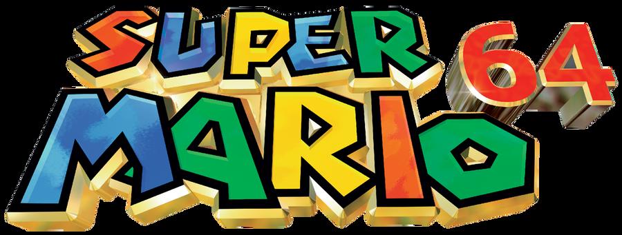 Super Mario 64 Logo By Ringostarr39 On Deviantart
