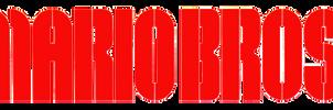Mario Bros. logo