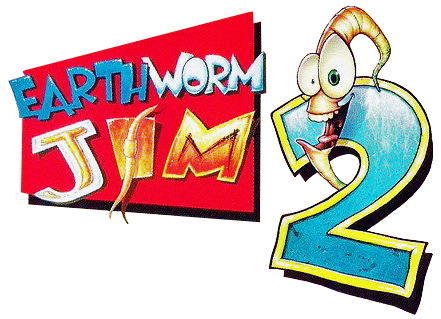 Earthworm Jim 2 logo