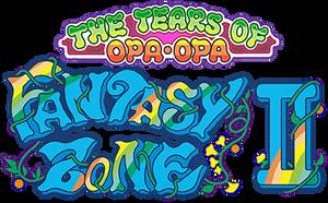 Fantasy Zone II: The Tears of Opa-Opa (AC) logo by RingoStarr39