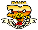 Pac-Man 30th Anniversary logo