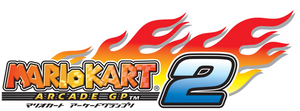 Mario Kart Arcade GP 2 logo (Japan)