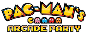 Pac-Man's Arcade Party logo