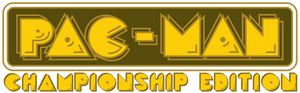 Pac-Man Championship Edition logo