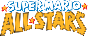 Super Mario All-Stars logo