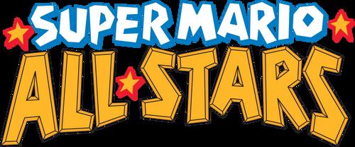 Super Mario All-Stars logo