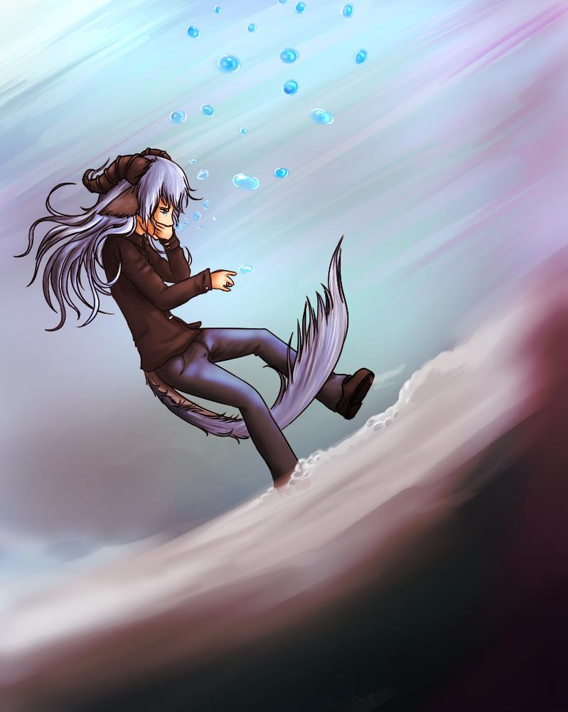 Drowning by KingViridian