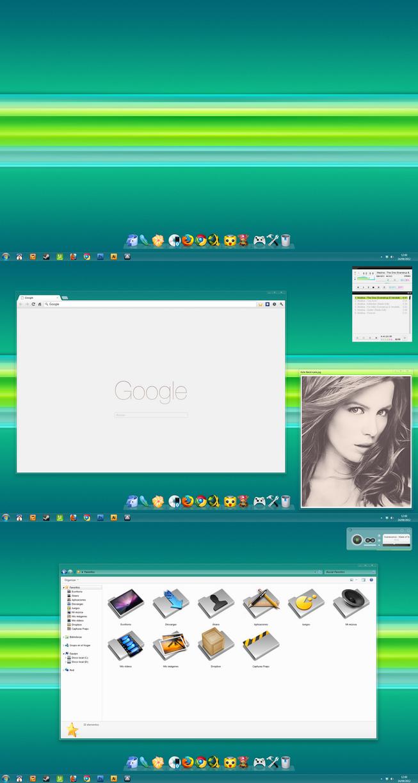 My Desktop - Septiembre 2012 - by Hura134