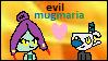Evil Mugmaria Stamp by SylveonsRibbons101