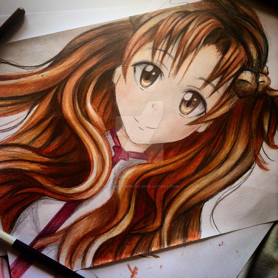 finished asuna by Sophiethebrave