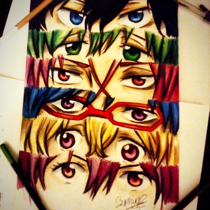 Free! Eyes by Sophiethebrave