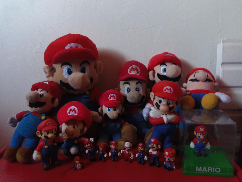 MY FABULOUS RED COLLECTION OF MARIOS by CAMIKOOPA