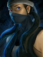 Ninja Girl by waffelpirate9o9