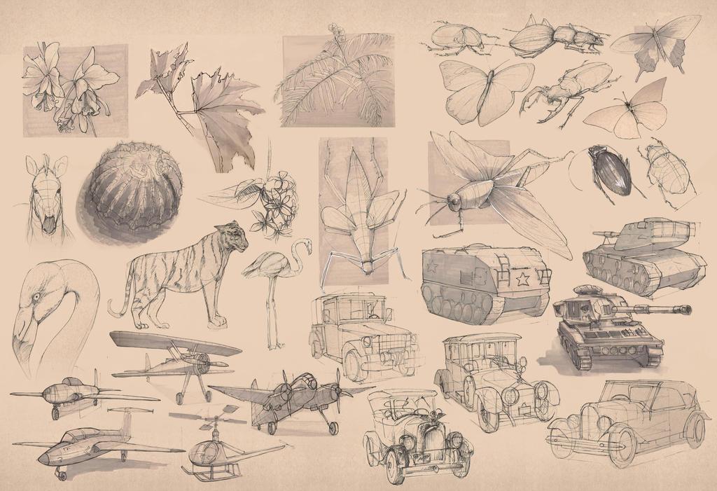 ViscomI studies by aeror404