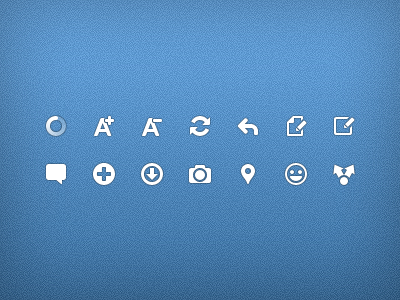 Android actionbar icons by Ashung
