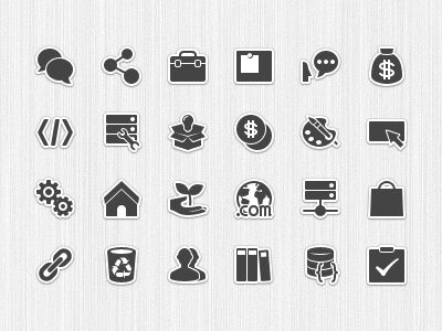 forum category icons pictogram