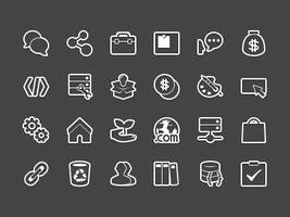 Forum Categories Icon Outline by Ashung