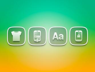 transparent icons