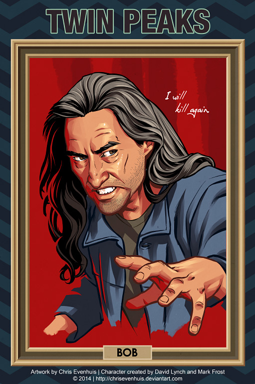 Twin Peaks - Bob by ChrisEvenhuis