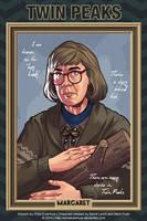 Twin Peaks - Margaret by ChrisEvenhuis