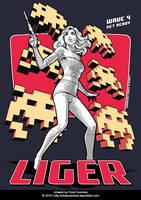 Liger T-Shirt design by ChrisEvenhuis