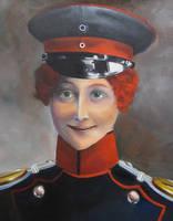 Portrait of Luise Adelheid von Friedeburg