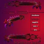 The Crimson Hero KeyBlade by sin108