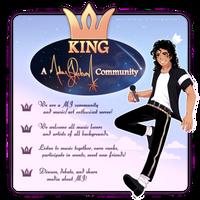 KING: A Michael Jackson Community by WHlT3FANG