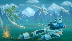 Virtual On Operation Moongate