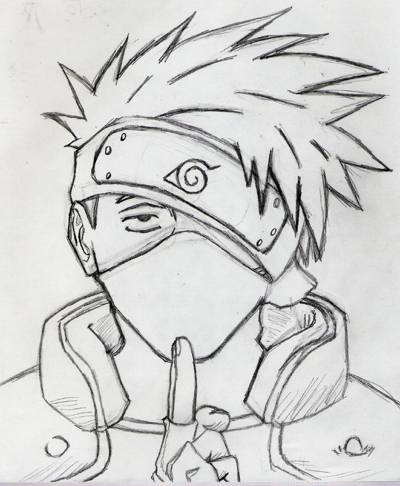 kakashi sketches - 811×984
