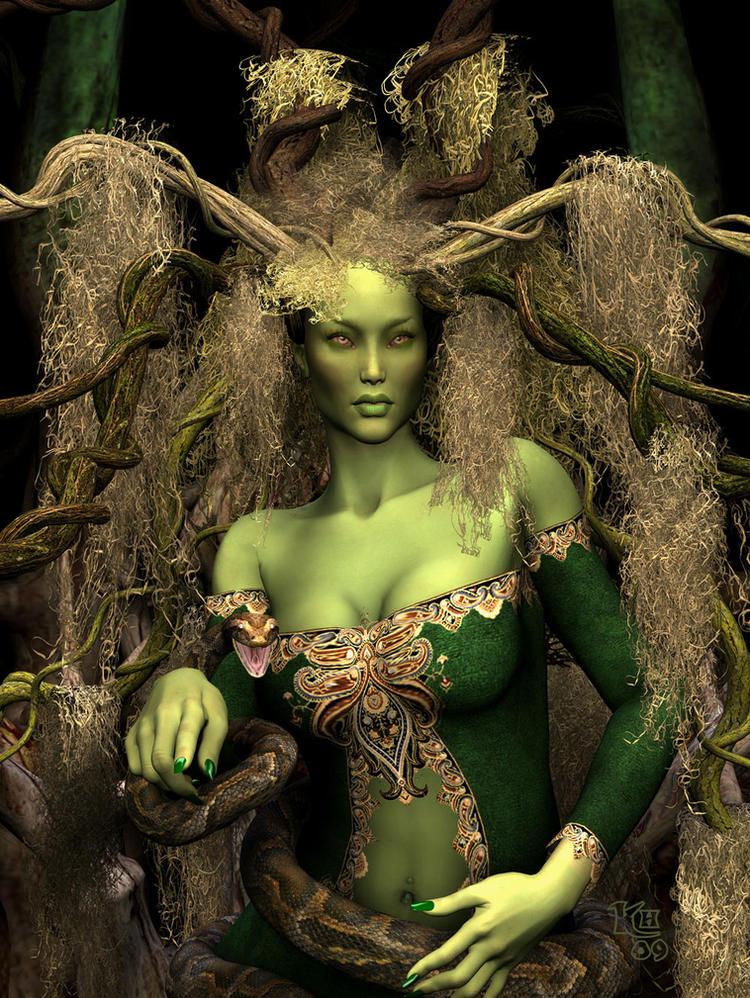 Forest Queen by Erulian